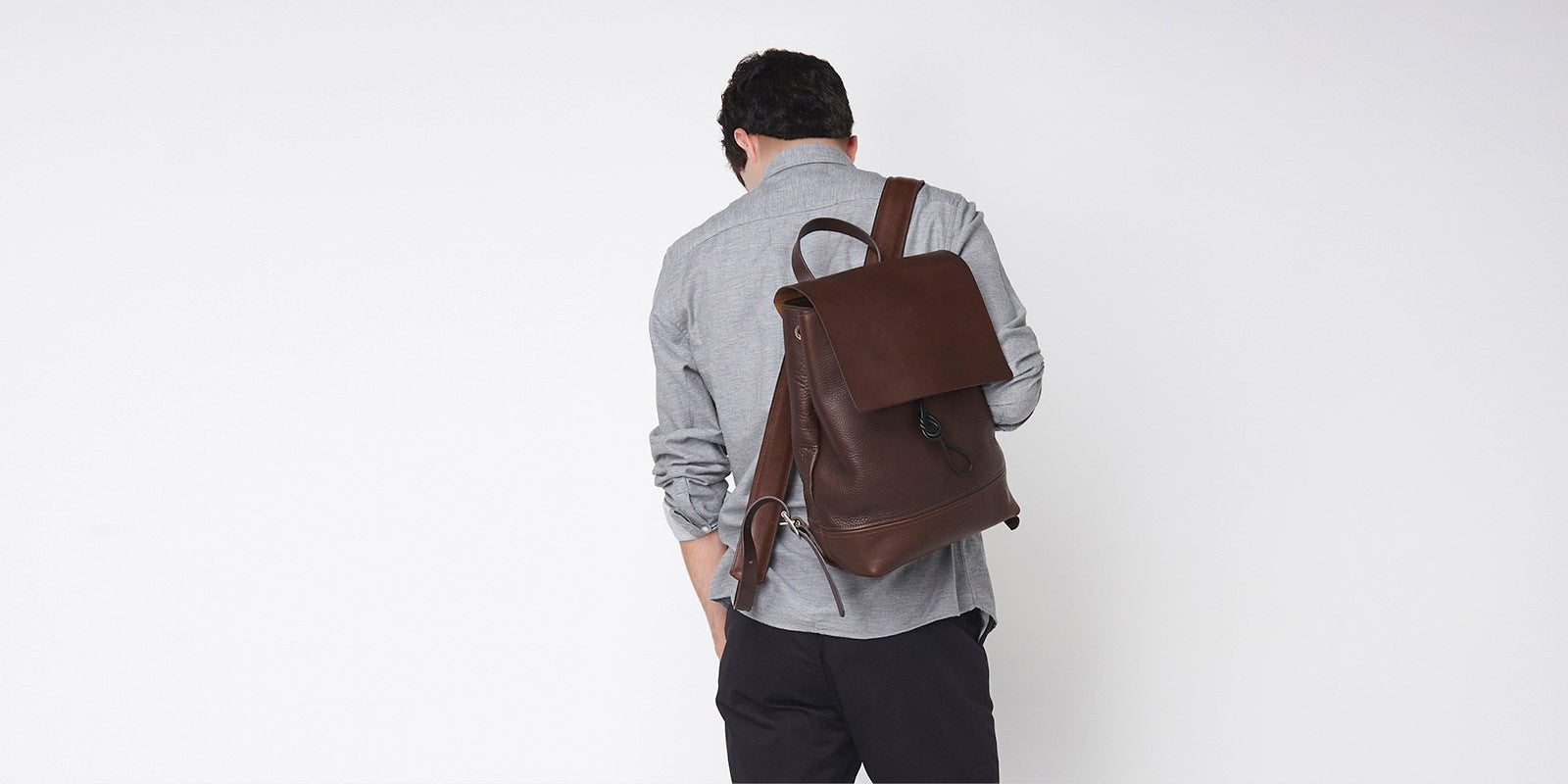 Medium Backpack - Brown Slide 1