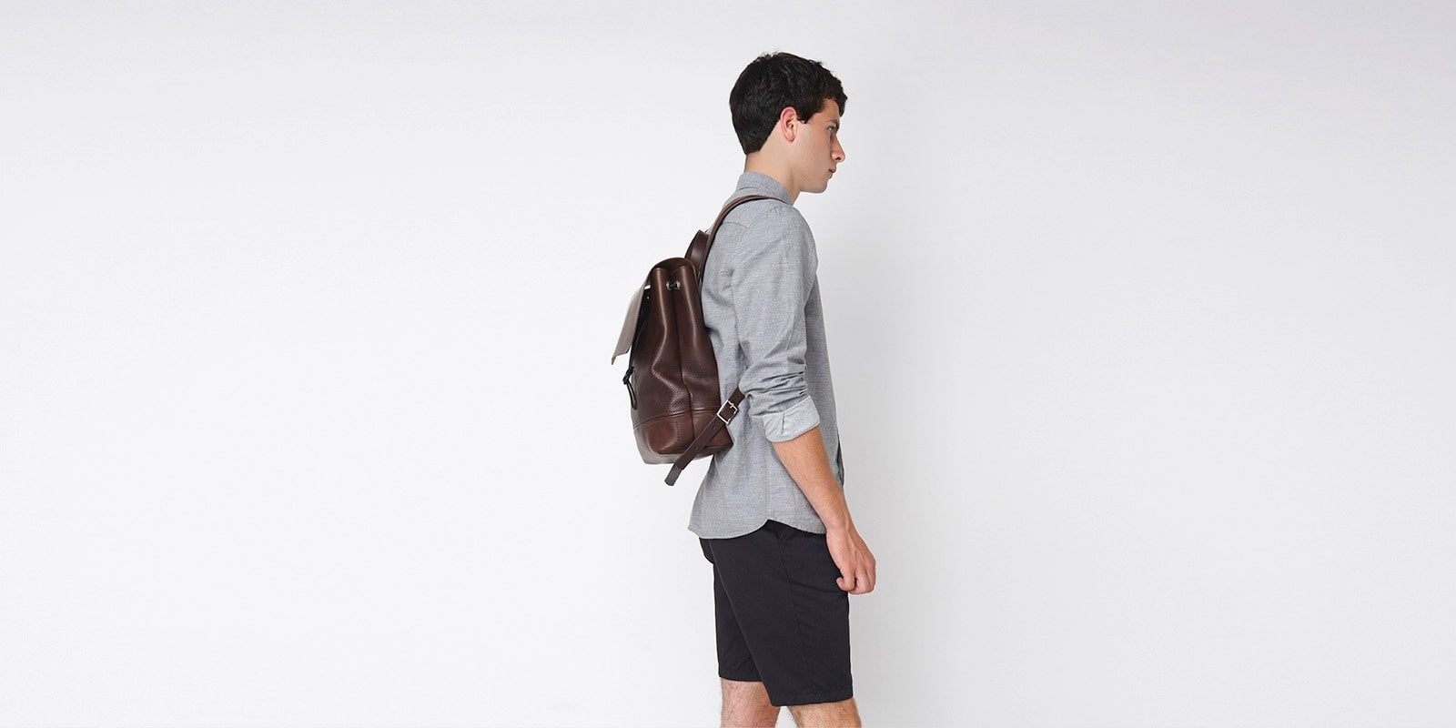Medium Backpack - Brown Slide 2