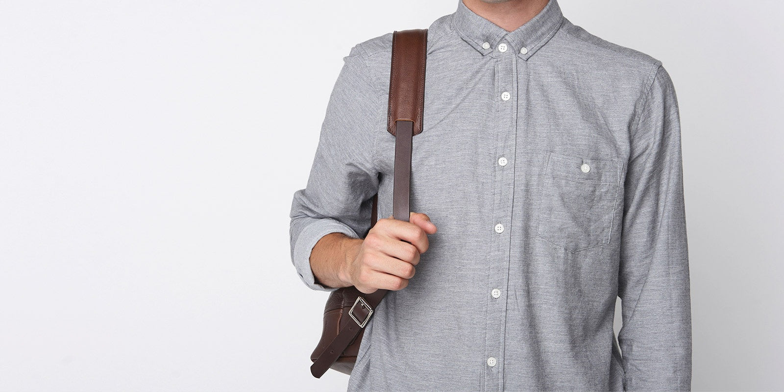 Medium Backpack - Brown Slide 4