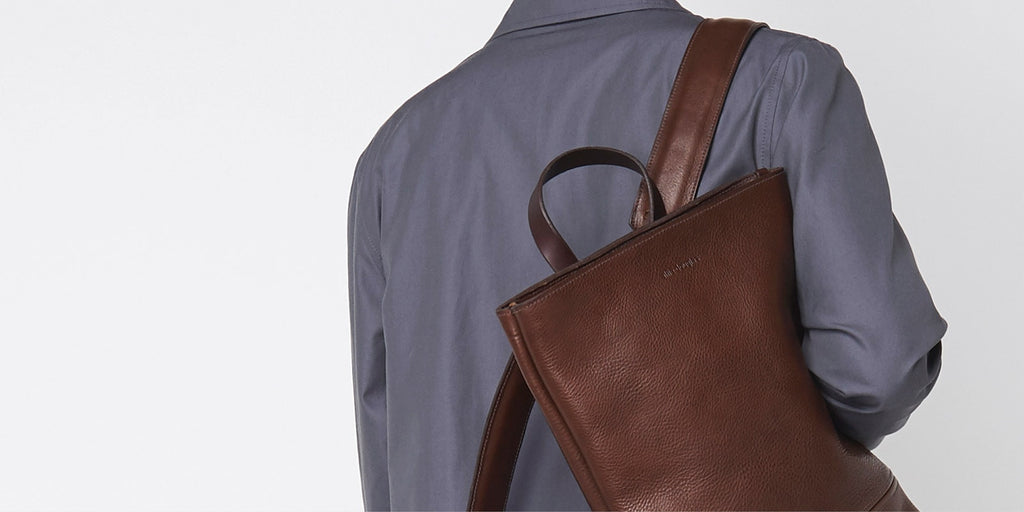 Medium Minimal Backpack - Brown Slide 4