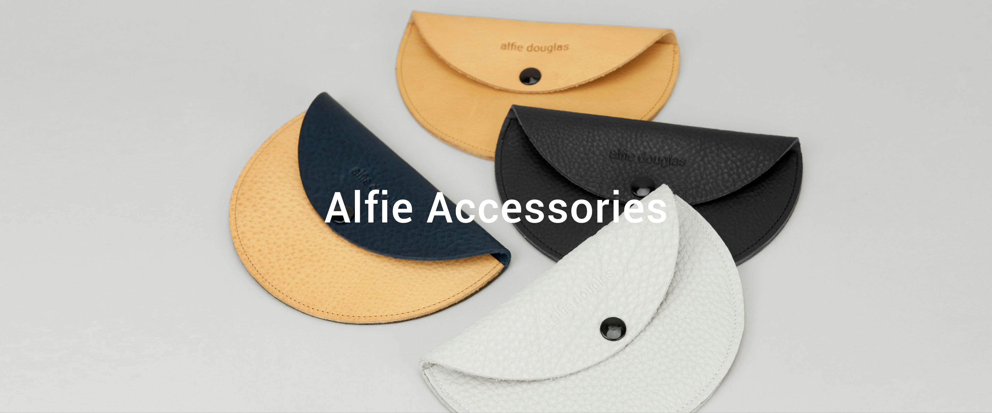 Alfie Douglas handmade leather accessories