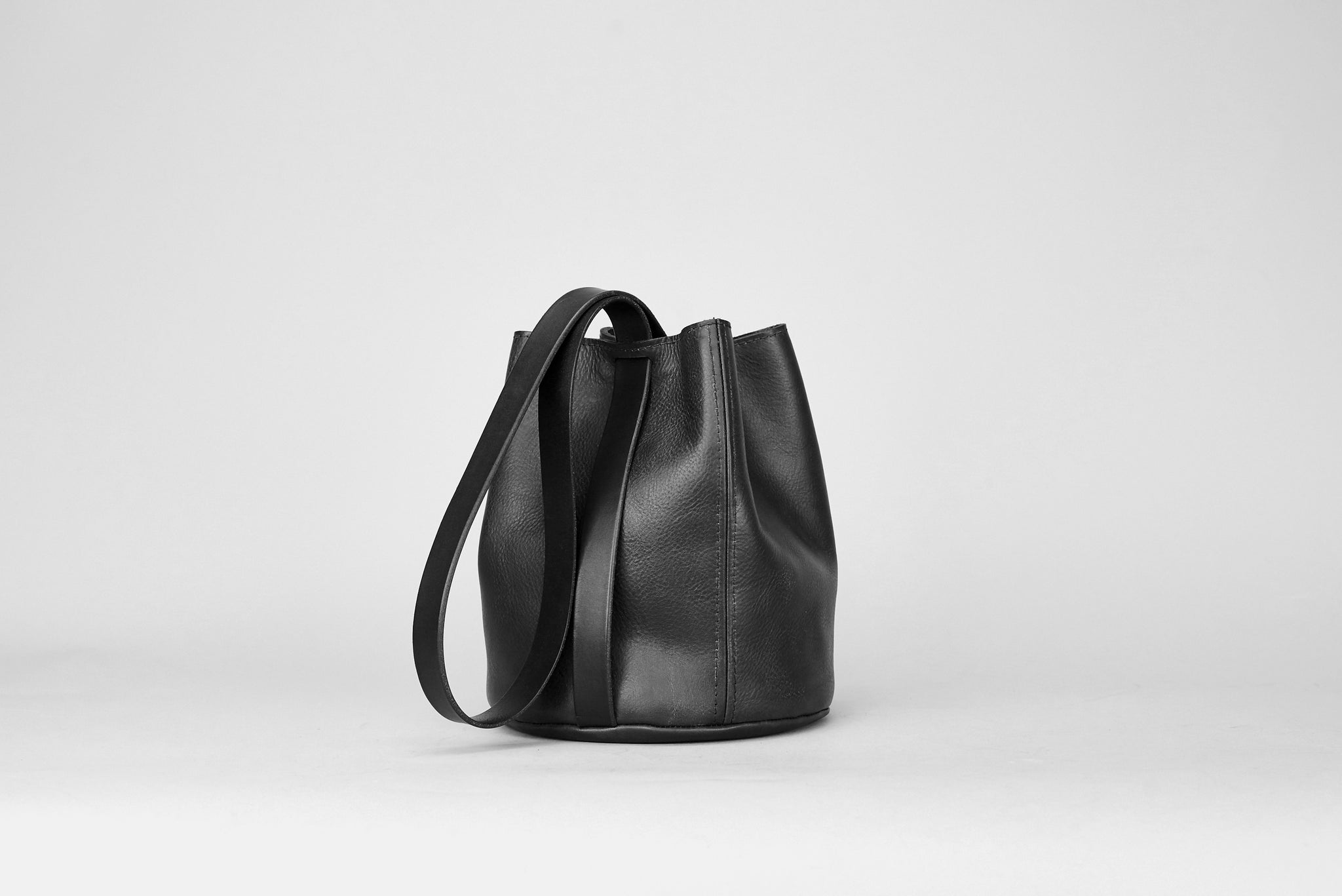 Alfie Douglas leather bucket bag