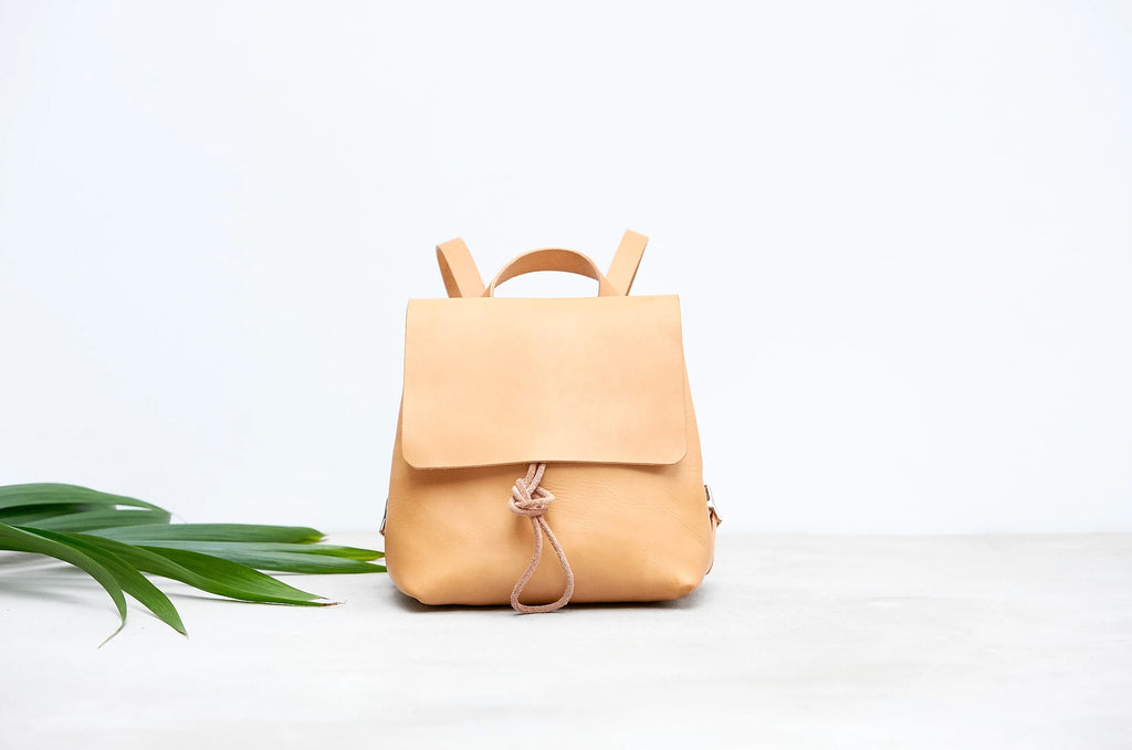 Alfie Douglas handmade Leather Backpack