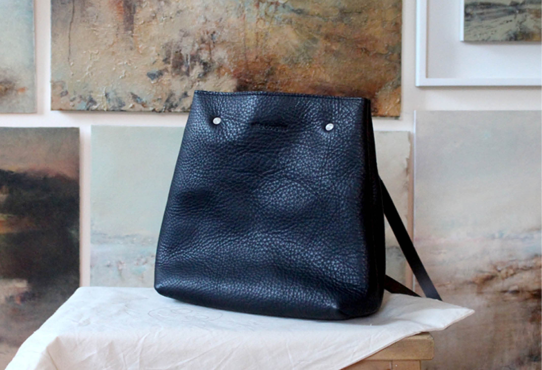 Alfie Douglas handmade in England leather bags and accessories