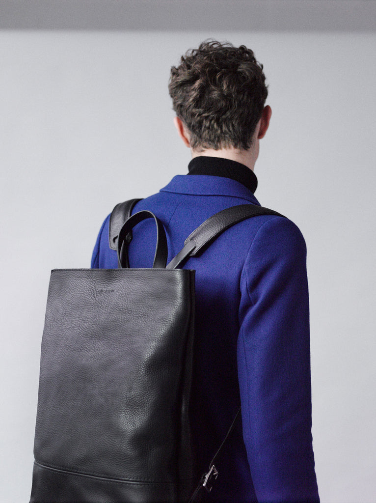 Alfie Douglas leather backpack