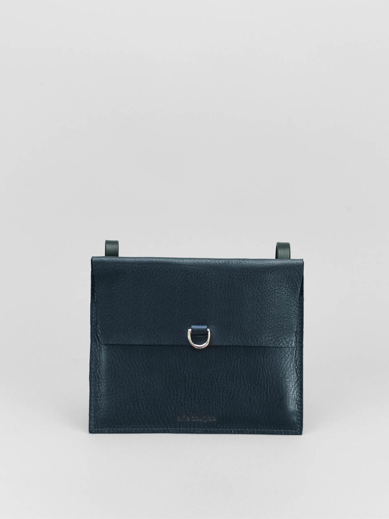 Alfie Douglas minimal leather pouch handmade in england