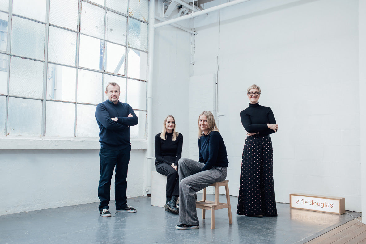 Alfie Douglas studio family team