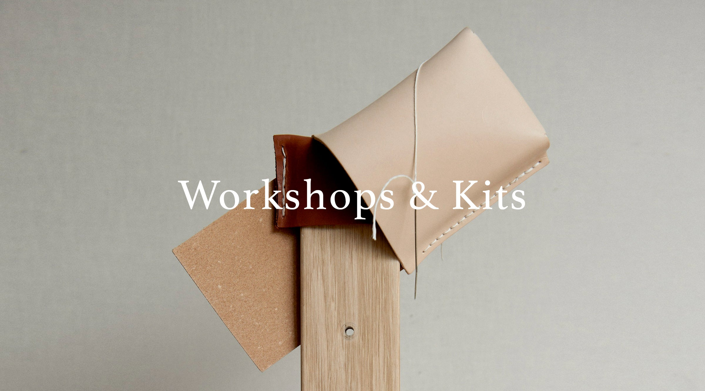 Alfie Douglas London workshops and kits