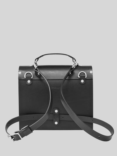 Small Structured Bag - 3 colours - Alfie Douglas - minimal leather bags backpacks handmade in England