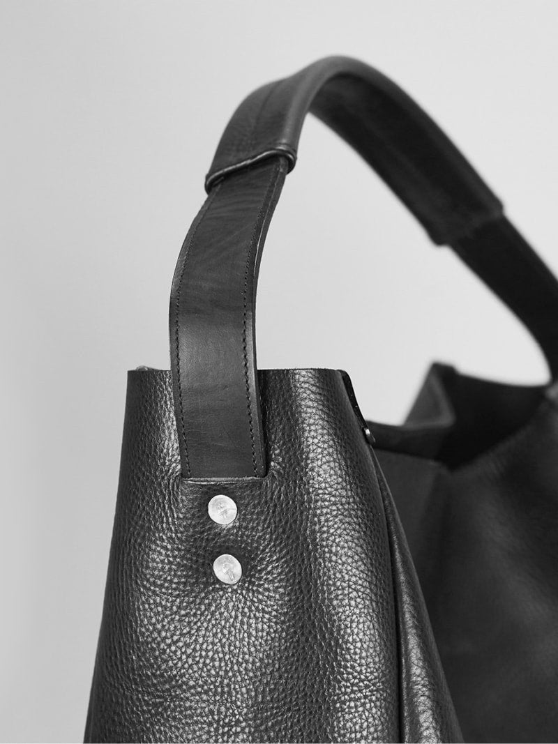 Slouchy Tote - Alfie Douglas - minimal leather bags and backpacks handmade in London, England