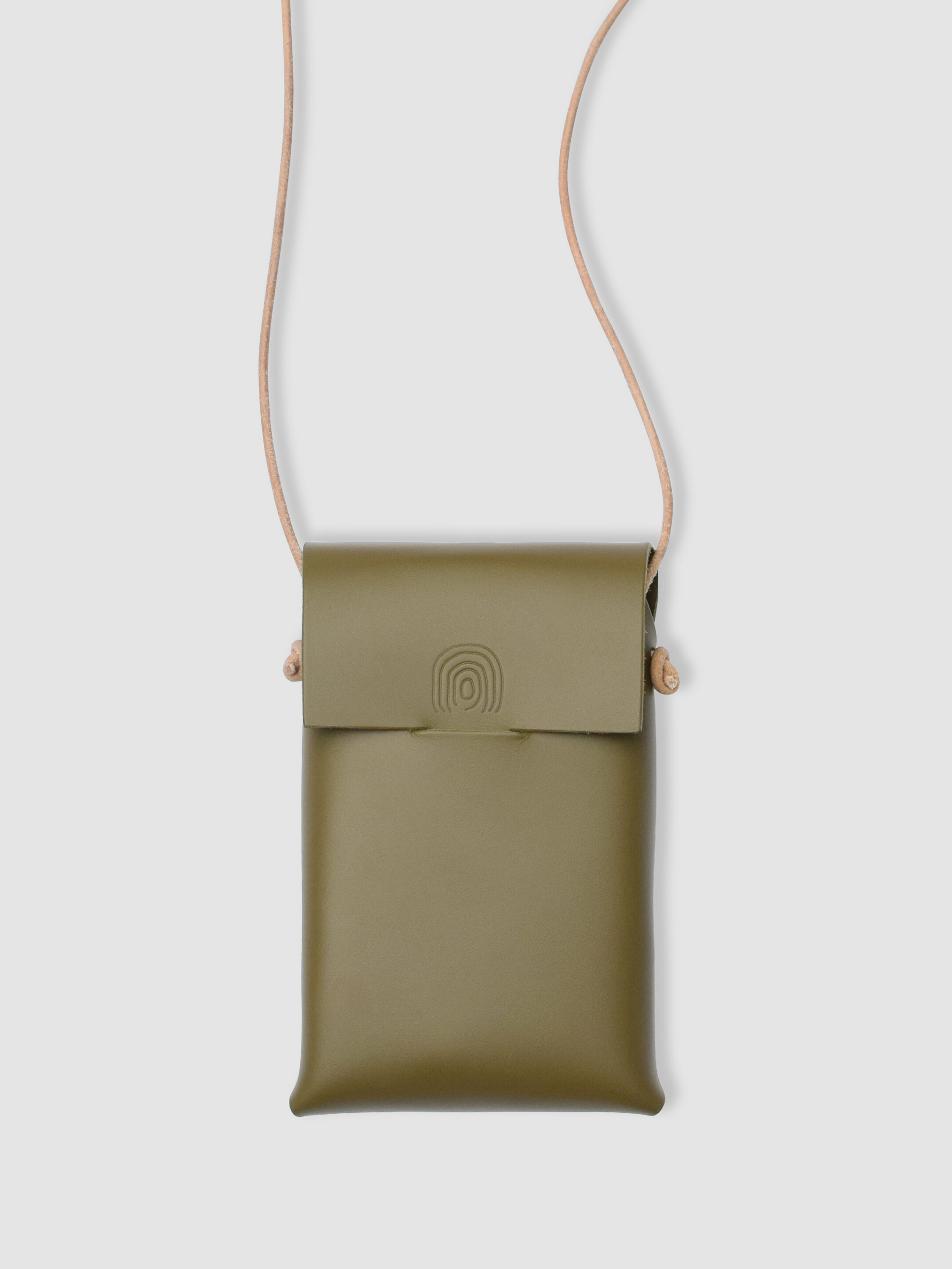 midi case - Alfie Douglas - minimal leather bags backpacks handmade in England