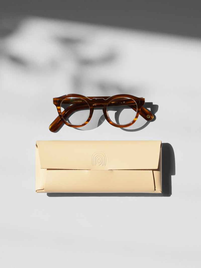 ORU OPTICAL CASE > GLASSES / PENCIL CASE - Alfie Douglas - minimal leather bags backpacks handmade in England