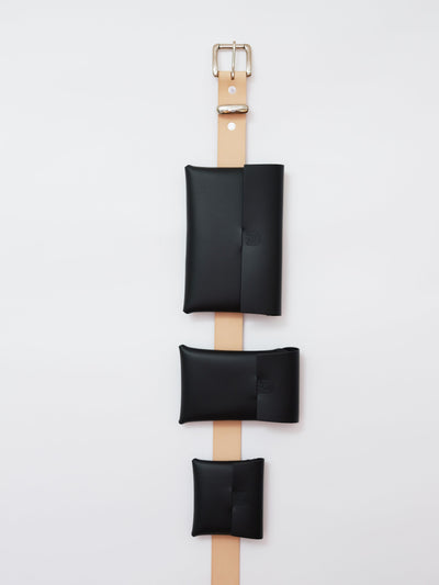 ORU MIDI CASE > PHONE / TRAVEL - Alfie Douglas - minimal leather bags backpacks handmade in England