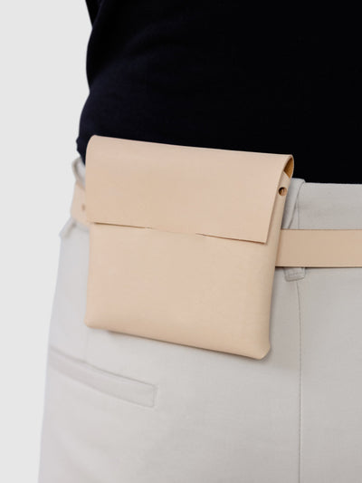 midi case > smooth finish - Alfie Douglas - minimal leather bags backpacks handmade in England