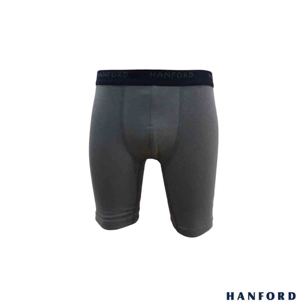 Hanford Kids/Teens Cotton w/ Spandex Knee Shorts - Finster2/MuscleGray (Single Pack)