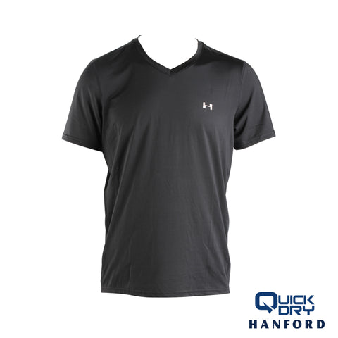 Hanford Men's Athletic V-Neck Shirt (Single Pack)