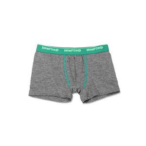 Hanford Teens Boxer Briefs-Cotton Spandex Dim Grey (Single Pack)