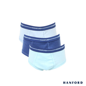 Hanford Kids/Teens Hipster Briefs Skipper - Assorted (3in1 Pack)