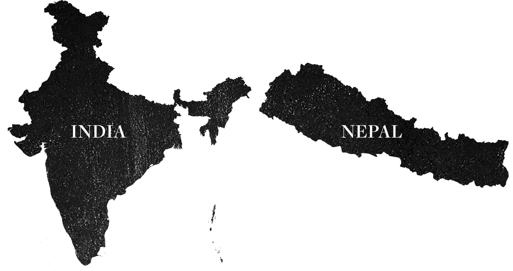 Nepal and India