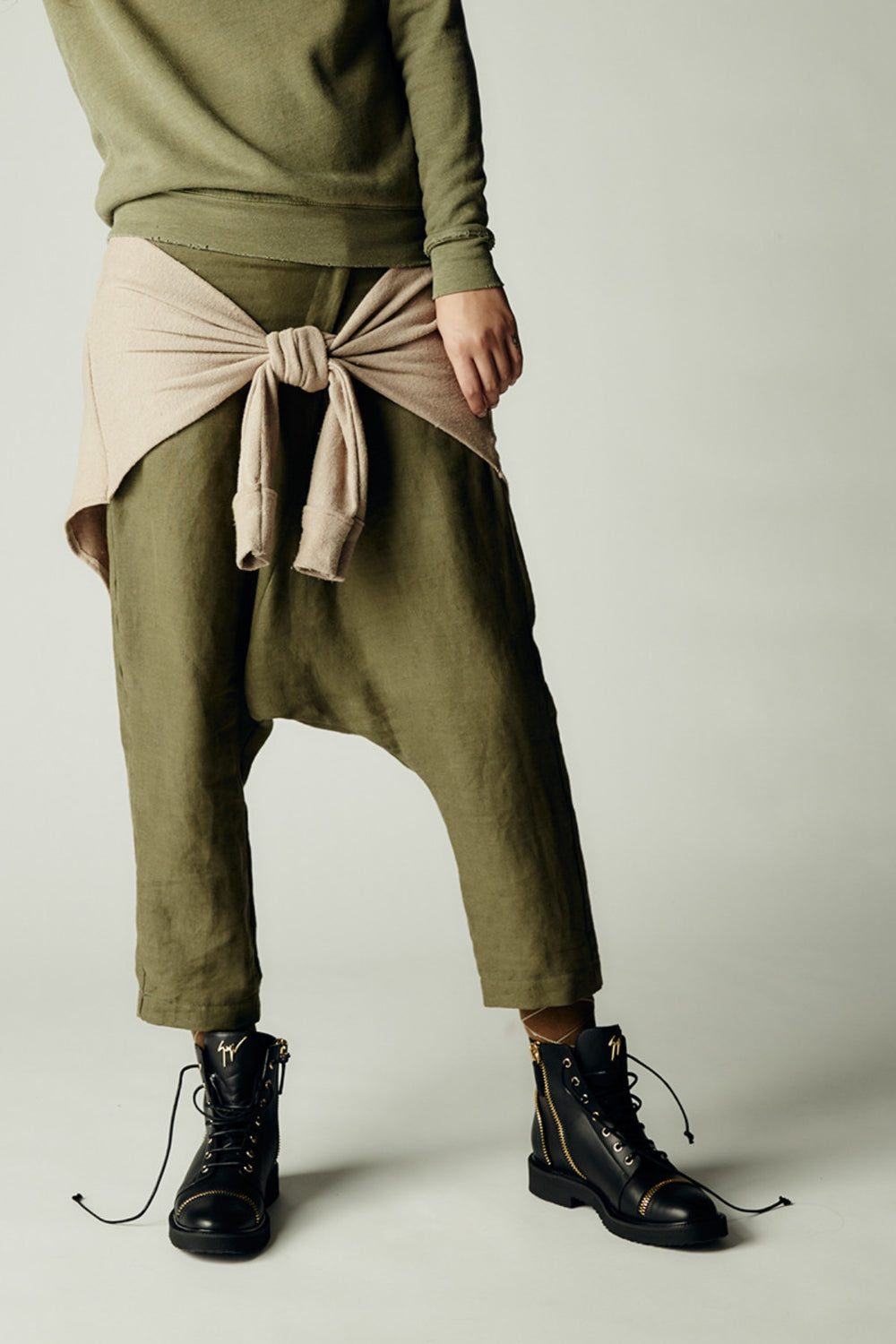 Tied Up Pant Blush