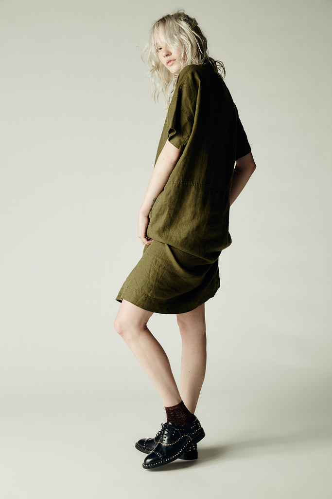 Dandy Dress Army Green
