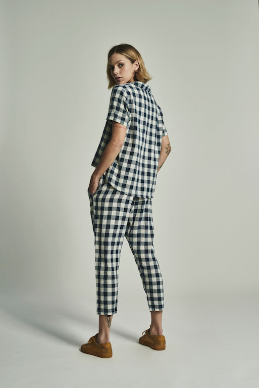 The Gingham Camp Pant