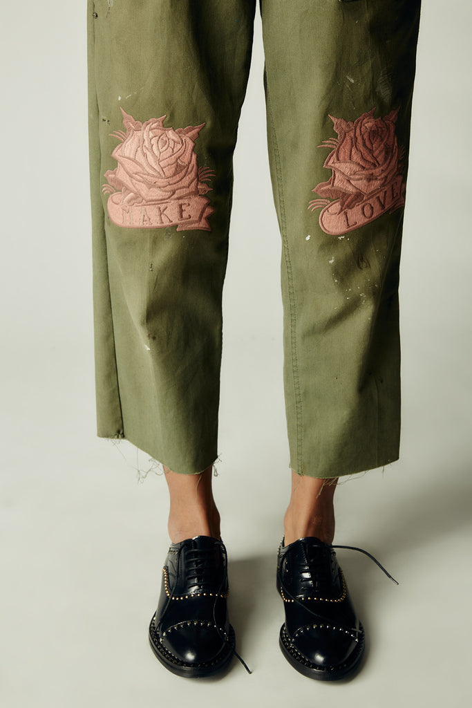 Make Love Army Pant