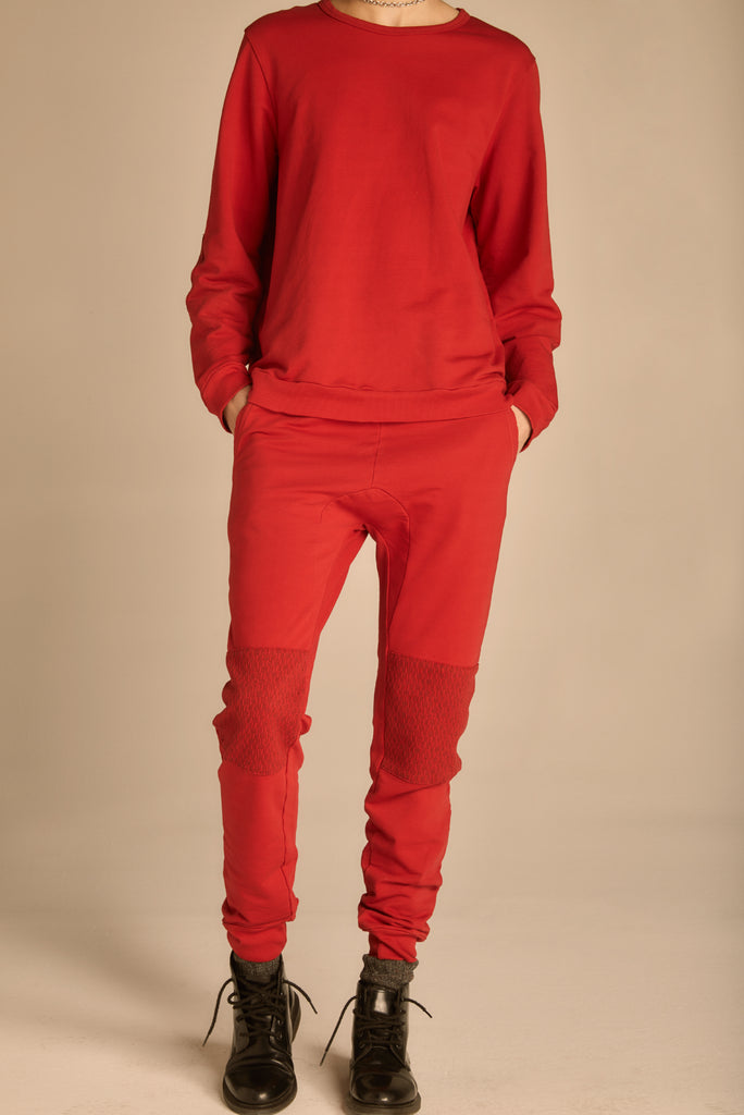 The Red Camden Joggers