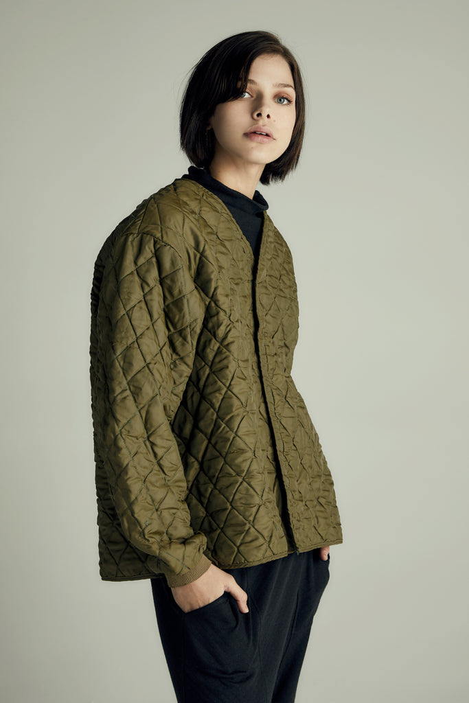The Quilted Army Jacket