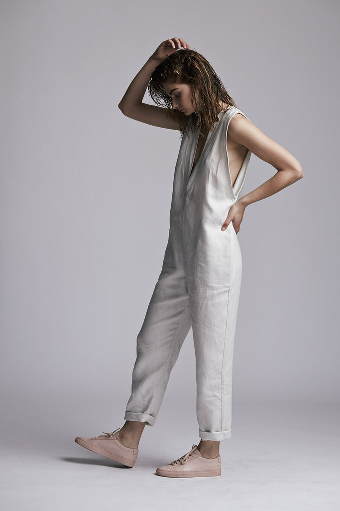Mill Jumpsuit Bone