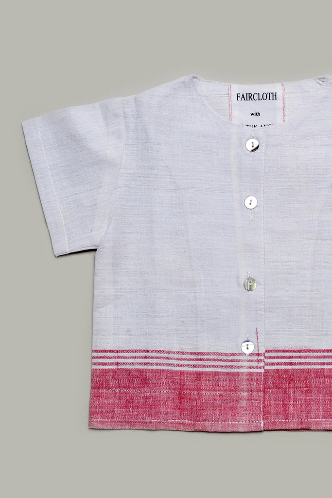 Saffron Button-Up