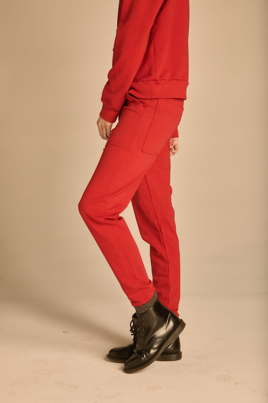 The Red Oxford Pant