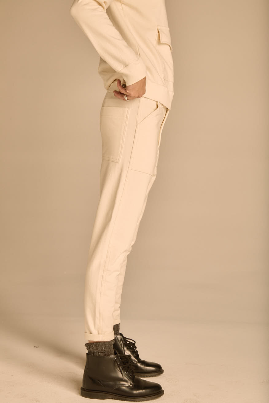 The Cream Oxford Pant