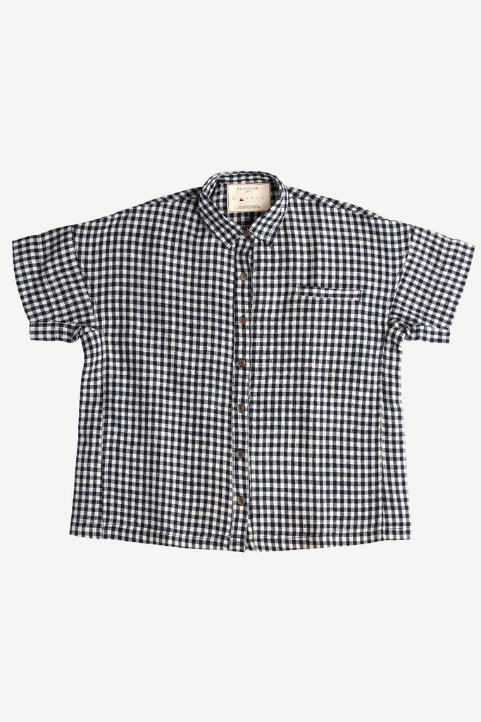 Cooper Shirt Navy Plaid
