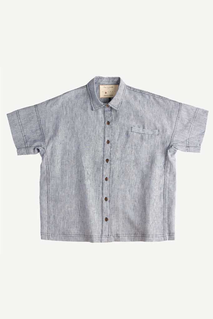 Cooper Shirt Blue Stripe