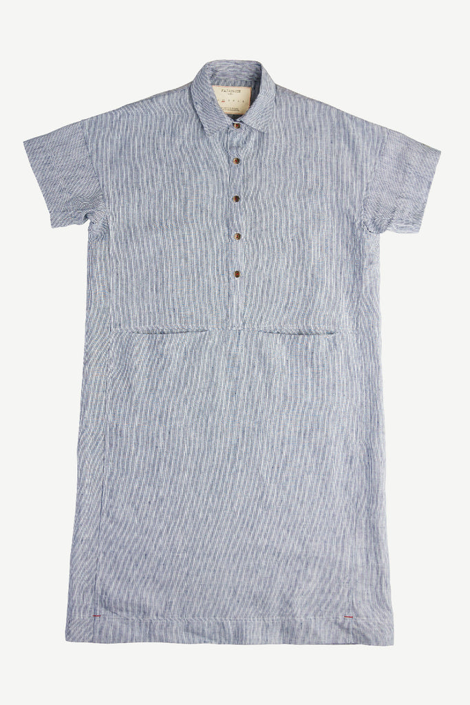 Dandy Dress Blue Stripe