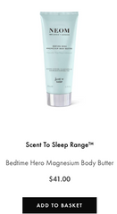 Bedtime Hero Magnesium Body Butter