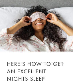 how to get an excellent night's sleep
