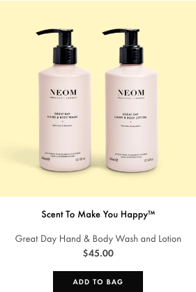 great day hand wash & lotion