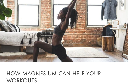magnesium can help workouts