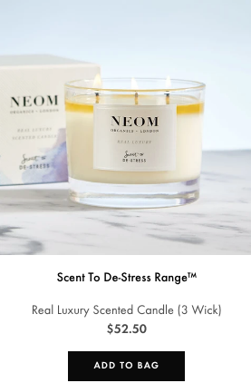 real luxury 3 wick