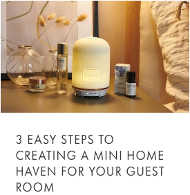 scent your guest room