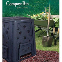 Load image into Gallery viewer, Redmon Since 1883 8000 Compost Bin, Full, Black
