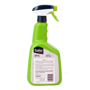 Safer 5180-6 Neem Oil Ready-to-Use Brand Fungicide, 1 Pack