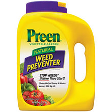Load image into Gallery viewer, Preen 2464223 Natural Vegetable Garden Weed Preventer, 5 lb-Covers 250 sq. ft