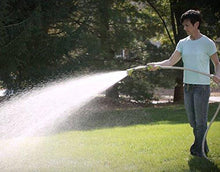 "Load image into Gallery viewer, The Relaxed Gardener Watering Wand - 15"" Garden Hose Nozzle Sprayer 8 Adjustable Spray Patterns and Thumb Control Shut Off Valve"