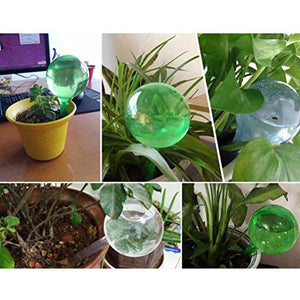 CoscosX 5 Pcs Automatic Watering Device Globes Vacation Houseplant Plant Pot Bulbs Garden Waterer Flower Water Drip Irrigationdevice Self Watering System