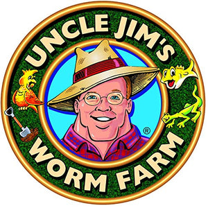 Uncle Jim's Worm Farm 100 Count Live Composting Worm Mix