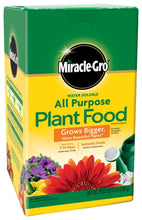 Load image into Gallery viewer, Miracle-Gro 1000283, 3-Pound Fertilizer All Purpose Plant Food, 3 lb