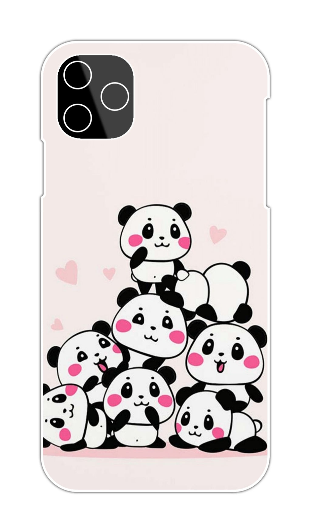 CUTE SMALL PANDAS CASE